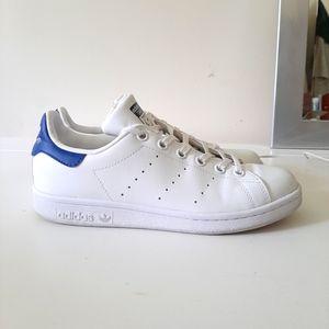 Adidas Stan Smith White/Blue Sneakers
